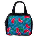 Carnations Classic Handbags (One Side)