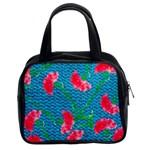 Carnations Classic Handbags (2 Sides)
