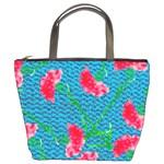 Carnations Bucket Bags