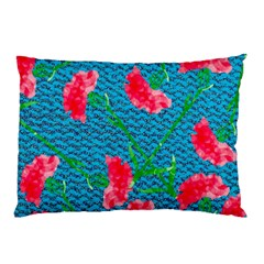 Carnations Pillow Case by DanaeStudio