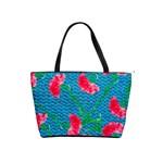 Carnations Shoulder Handbags