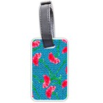 Carnations Luggage Tags (One Side)