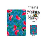 Carnations Playing Cards 54 (Mini)