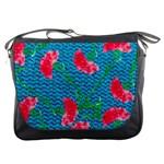 Carnations Messenger Bags