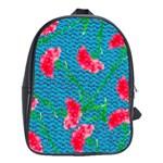 Carnations School Bags (XL)