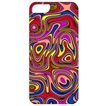 Abstract Shimmering Multicolor Swirly Apple iPhone 5 Classic Hardshell Case