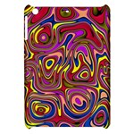 Abstract Shimmering Multicolor Swirly Apple iPad Mini Hardshell Case