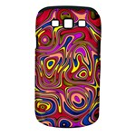 Abstract Shimmering Multicolor Swirly Samsung Galaxy S III Classic Hardshell Case (PC+Silicone)