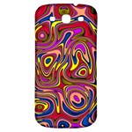 Abstract Shimmering Multicolor Swirly Samsung Galaxy S3 S III Classic Hardshell Back Case