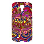 Abstract Shimmering Multicolor Swirly Samsung Galaxy S4 I9500/I9505 Hardshell Case