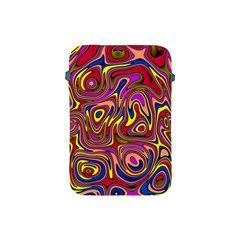 Abstract Shimmering Multicolor Swirly Apple Ipad Mini Protective Soft Cases by designworld65