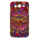 Abstract Shimmering Multicolor Swirly Samsung Galaxy Mega 5.8 I9152 Hardshell Case