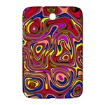 Abstract Shimmering Multicolor Swirly Samsung Galaxy Note 8.0 N5100 Hardshell Case