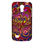 Abstract Shimmering Multicolor Swirly Galaxy S4 Mini