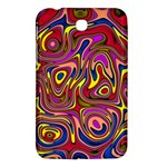 Abstract Shimmering Multicolor Swirly Samsung Galaxy Tab 3 (7 ) P3200 Hardshell Case
