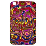 Abstract Shimmering Multicolor Swirly Samsung Galaxy Tab 3 (8 ) T3100 Hardshell Case