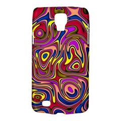 Abstract Shimmering Multicolor Swirly Galaxy S4 Active by designworld65