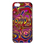 Abstract Shimmering Multicolor Swirly Apple iPhone 5C Hardshell Case
