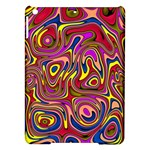 Abstract Shimmering Multicolor Swirly iPad Air Hardshell Cases