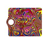 Abstract Shimmering Multicolor Swirly Kindle Fire HDX 8.9  Flip 360 Case