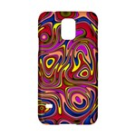 Abstract Shimmering Multicolor Swirly Samsung Galaxy S5 Hardshell Case