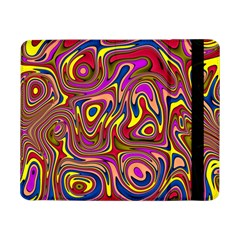 Abstract Shimmering Multicolor Swirly Samsung Galaxy Tab Pro 8 4  Flip Case by designworld65