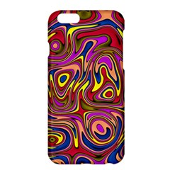 Abstract Shimmering Multicolor Swirly Apple Iphone 6 Plus/6s Plus Hardshell Case by designworld65