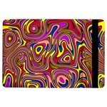 Abstract Shimmering Multicolor Swirly iPad Air 2 Flip