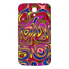 Abstract Shimmering Multicolor Swirly Samsung Galaxy Mega I9200 Hardshell Back Case by designworld65