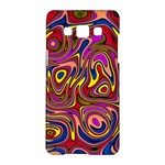 Abstract Shimmering Multicolor Swirly Samsung Galaxy A5 Hardshell Case