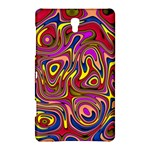Abstract Shimmering Multicolor Swirly Samsung Galaxy Tab S (8.4 ) Hardshell Case