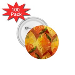 Fall Colors Leaves Pattern 1 75  Buttons (100 Pack)  by DanaeStudio