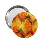 Fall Colors Leaves Pattern 2.25  Handbag Mirrors