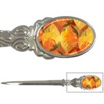 Fall Colors Leaves Pattern Letter Openers