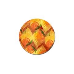 Fall Colors Leaves Pattern Golf Ball Marker (10 Pack) by DanaeStudio