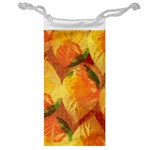 Fall Colors Leaves Pattern Jewelry Bags