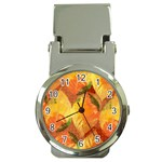 Fall Colors Leaves Pattern Money Clip Watches