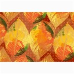Fall Colors Leaves Pattern Collage Prints