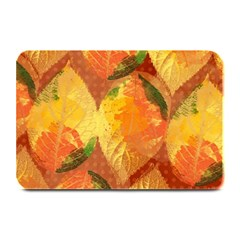 Fall Colors Leaves Pattern Plate Mats by DanaeStudio