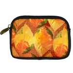 Fall Colors Leaves Pattern Digital Camera Cases