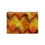 Fall Colors Leaves Pattern Cosmetic Bag (Medium)
