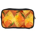 Fall Colors Leaves Pattern Toiletries Bags