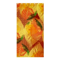Fall Colors Leaves Pattern Shower Curtain 36  X 72  (stall)  by DanaeStudio