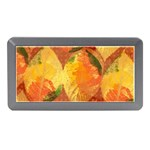 Fall Colors Leaves Pattern Memory Card Reader (Mini)