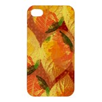 Fall Colors Leaves Pattern Apple iPhone 4/4S Hardshell Case