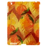 Fall Colors Leaves Pattern Apple iPad 3/4 Hardshell Case (Compatible with Smart Cover)