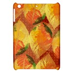 Fall Colors Leaves Pattern Apple iPad Mini Hardshell Case