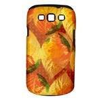 Fall Colors Leaves Pattern Samsung Galaxy S III Classic Hardshell Case (PC+Silicone)