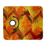 Fall Colors Leaves Pattern Samsung Galaxy S  III Flip 360 Case