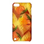 Fall Colors Leaves Pattern Apple iPod Touch 5 Hardshell Case with Stand
